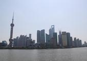 Rivière Huangpu à Shangaï