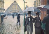 Peinture de Gustave Caillebotte