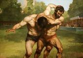 Peinture de G. Courbet