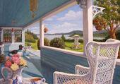 Puzzle peinture Johana Girard