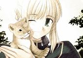 manga et le lionceau