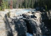 Kicking Horse River, pont naturel