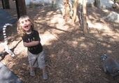 Ludo au Zoo du Cap Ferrat