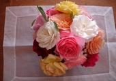 Puzzle roses du jardin
