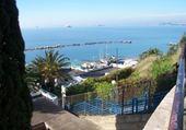 Le petit port de Tarente (Italie)