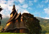 Eglise en bois debout - Norvège