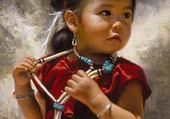 La petite fille en rouge