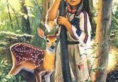 Le faon et l'enfant