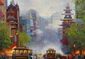 Puzzle peinture paul Landry