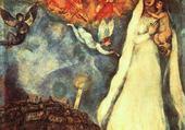 Peinture de Marc Chagall