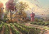 Peinture de Thomas KINDADE