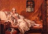 Femme au sofa de Boucher