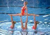 gimnastyque dans l'eau