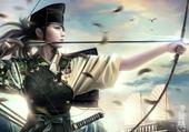 archère traditionelle japonaise