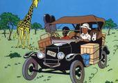 Puzzle Tintin au Congo