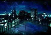 New-York dans la nuit