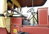 Autobus parisien cabine chauffeur
