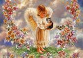 ange au chaton
