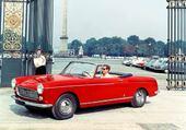 cabriolet 404 Peugeot