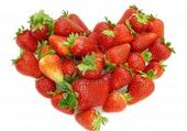 Le coeur de Charlotte aux fraises