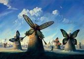 Les moulins papillons