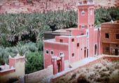 Maison rose Maroc