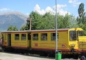Puzzle Le train jaune