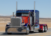 Puzzle camion transformer
