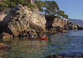 Sport d'été le canoé kaya