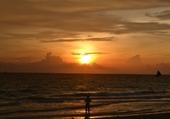 Coucher de soleil à Boracay
