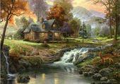 paysage féerique