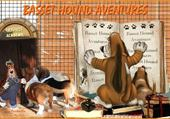 Puzzle rentree basset hound aventures