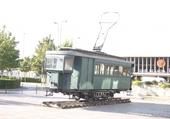 le vieux tram de Laon