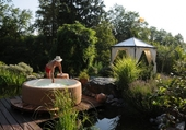 Spa Softub et gazebo