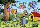 Puzzle Boule et bill
