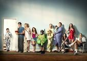 Puzzle modern family