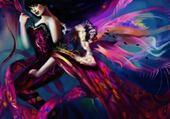 Puzzle femme balerine