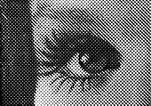 oeil tramé