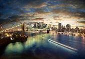 Puzzle new york city's lights