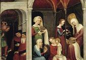 Puzzle Nativité de la Vierge vers1410-20