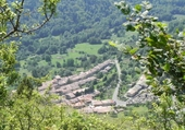 Puzzle Le village de Montségur