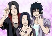 sasuke, itashi et leur mère