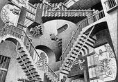 Relativity - M. Escher