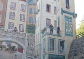fresque de Quebec