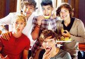 One Direction qui mange ♥
