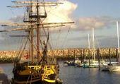 Port breton en automne