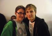 Céline Dumerc et moi