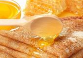 crèpes au miel