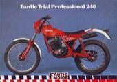 Puzzle moto fantic trial 240 pro