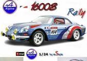 Alpines rallye burago